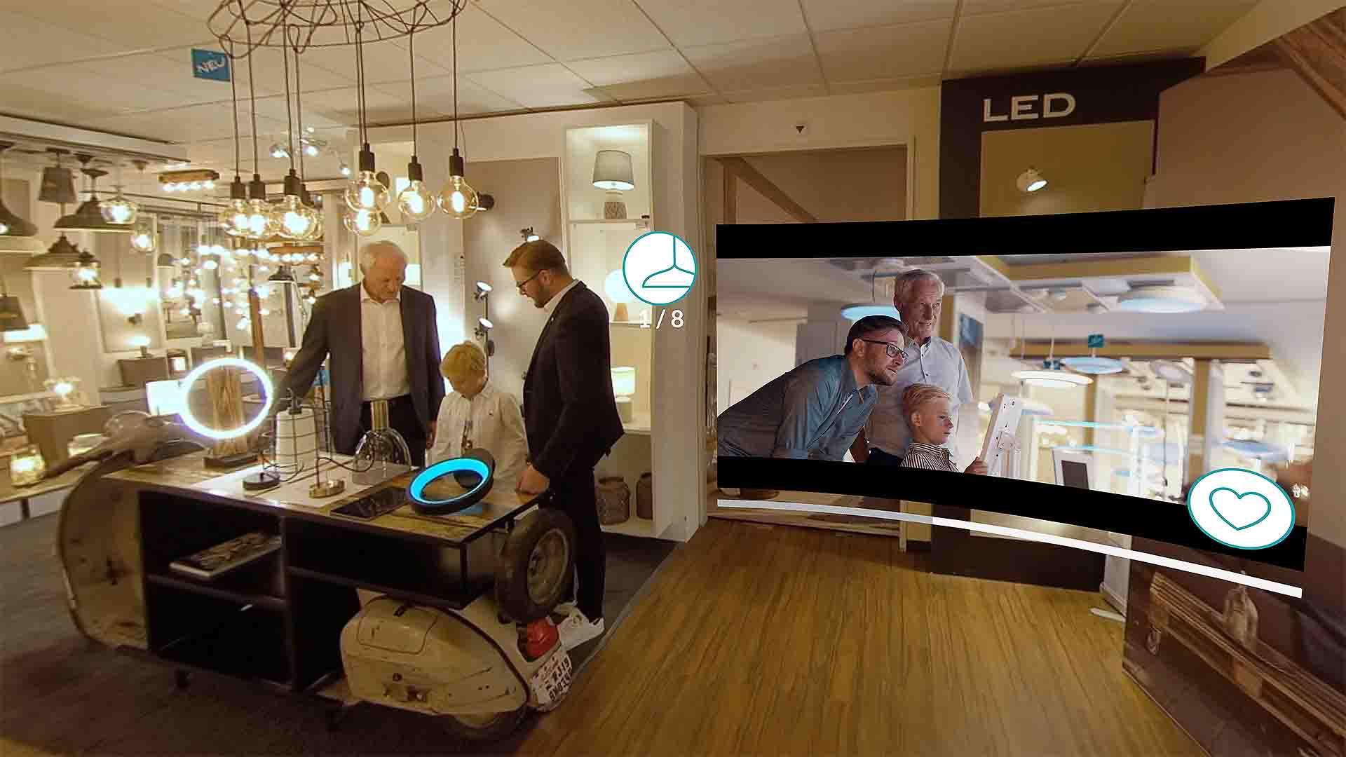 EGLO VR Showroom Screenshot