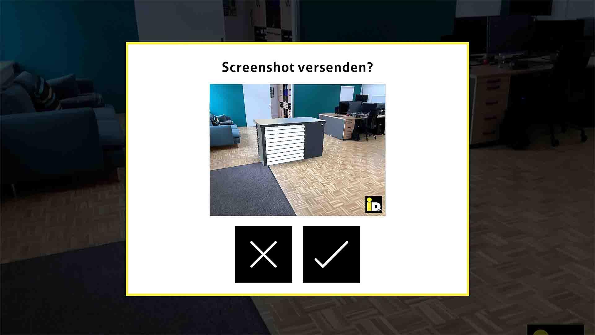 iDM AR-Monteurmodus Screenshot