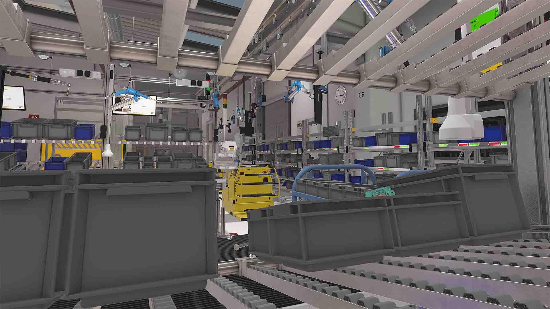 ROTAX VR-Assessment Firmenhalle