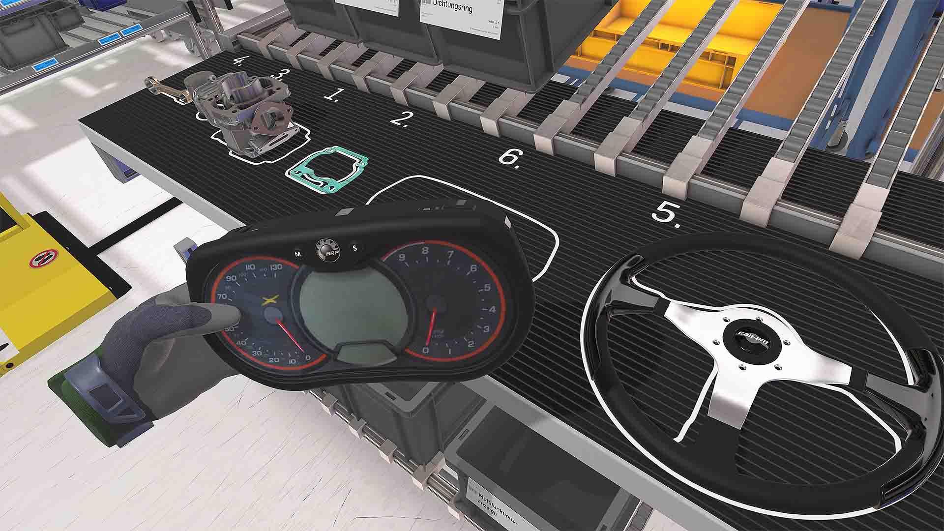 ROTAX VR-Assessment Multifunktionsanzeige